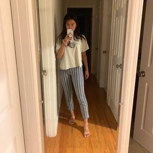 Brandy Melville J Galt Striped Pants